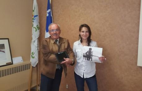 Gagnante du concours, Maryline Diotte