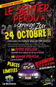Activité halloween 2020 Lac-des-Écorces