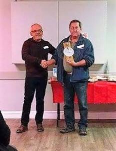 Récipiendaire 2016, M. Corbeil du Club Optimiste du secteur de Val-Barrette