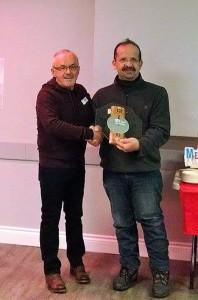 Récipiendaire 2016, M. Ouimet du Club de l'âge d'Or du souvenir